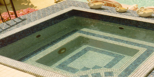 Custom Tiled Spa