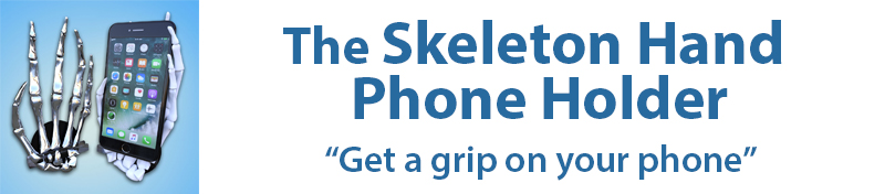 The Skeleton Hand Phone Holder