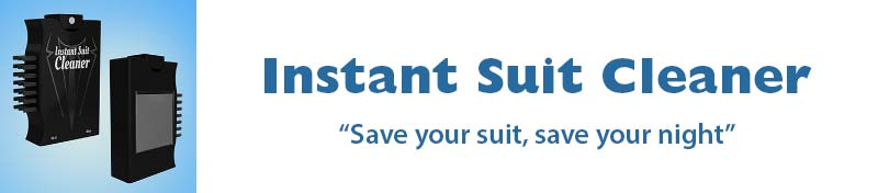 The Instant Suit Cleaner